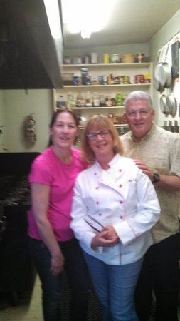 Lafayette Inn & Restaurant: Kay, Me. and Chef Alan
