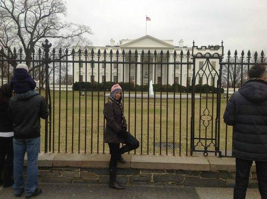 White House: Na grade