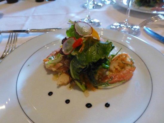 La Mirande : Ceviche of shrimp