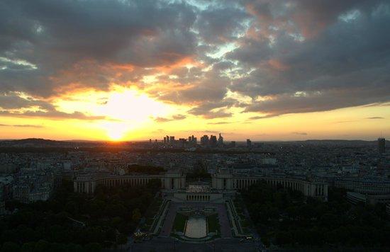 Tour Eiffel : Atardecer en la Torre Eiffel