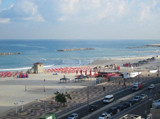 Sea Executive Suites: morgentlicher Ausblick auf die Beach