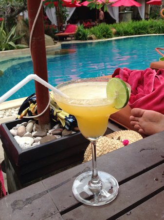 Rocky's Boutique Resort: Delicious margarita