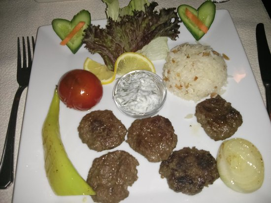 Cafe Vita Restaurant: Turkish Kofte