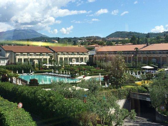 Hotel Caesius Thermae & Spa Resort: Vista dalla terrazza
