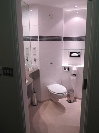 Aspect Hotel Kilkenny: Small Bathroom