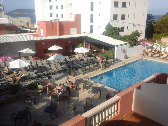 FERGUS Paraiso Beach Hotel: View from 235