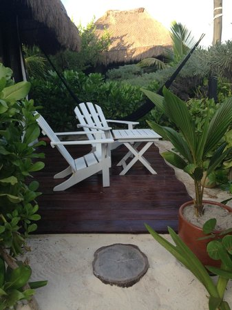 Coco Tulum: One of the bungalows