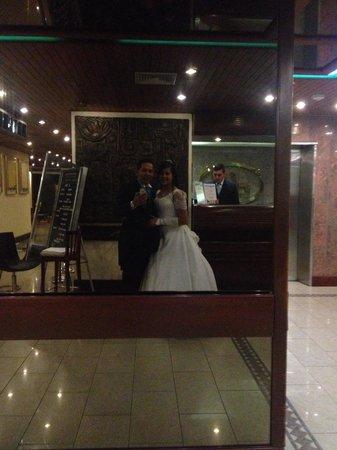 Pipo International Hotel: En recepción cuando llegamos