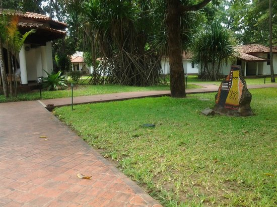 Mwembe Resort: Lovely grounds