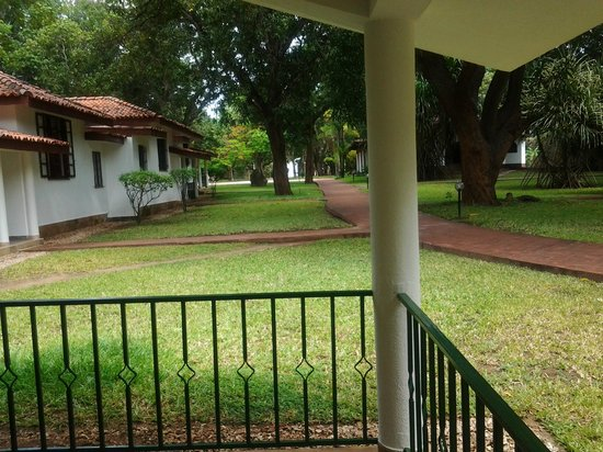 Mwembe Resort: View from our verandah