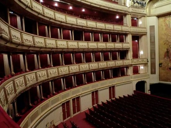 Staatsoper: オペラ座観客席