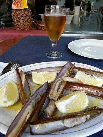 Mercat de Sant Josep de la Boqueria: Razor clams @ La Boqueria