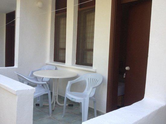Baytan Hotel: Odaların balkonu