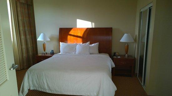 Hilton Richmond Downtown: King bed