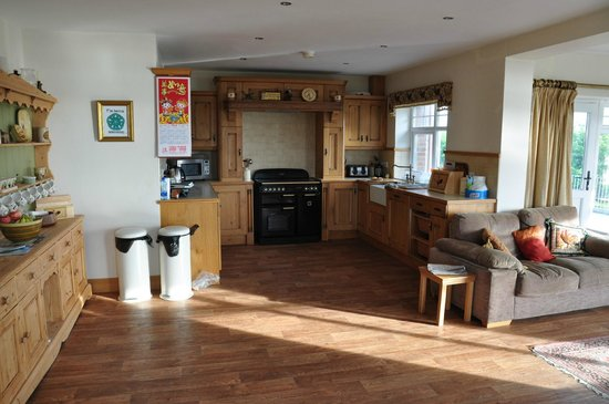 Ballylawn Lodge Bed and Breakfast: Kitchen