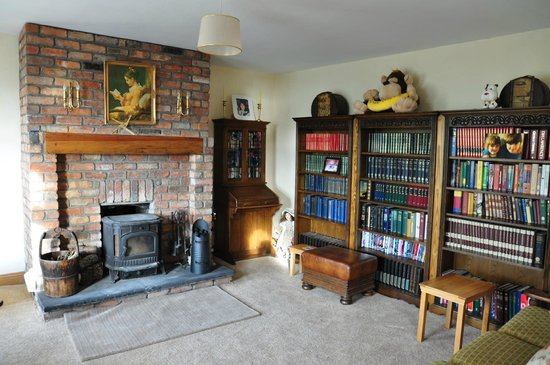 Ballylawn Lodge Bed and Breakfast: Library