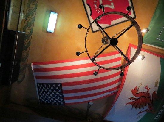 Kyteler's Inn: Ceiling