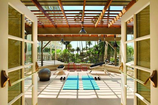 Fairmont Miramar Hotel & Bungalows: Outdoor Fitness Area