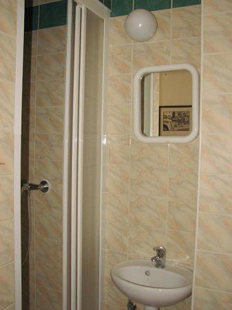 Travellers'Hostel: shower is handy