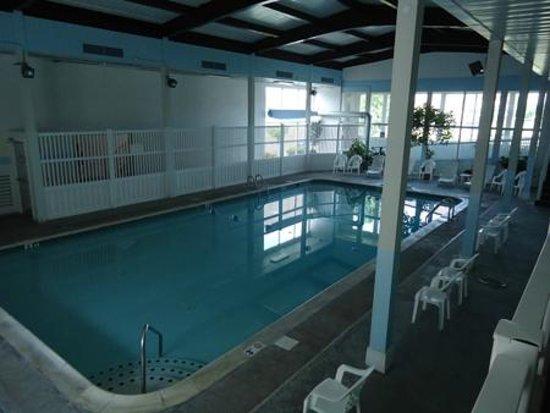 Indoor Heated Pool Picture Of Budget Host Inn Suites Lancaster Tripadvisor