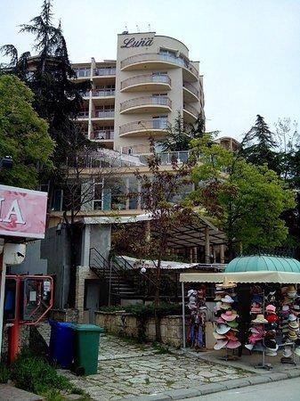 Luna Hotel: вид от базара