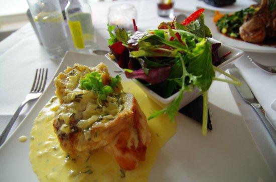 Willowgate Bistro: Chicken breast with risotto