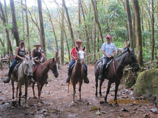 Nauyaca Waterfalls - Horseback Riding Tours: Girl's trip adventure!