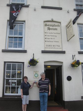 Sampford Guest House: Our lovely hosts