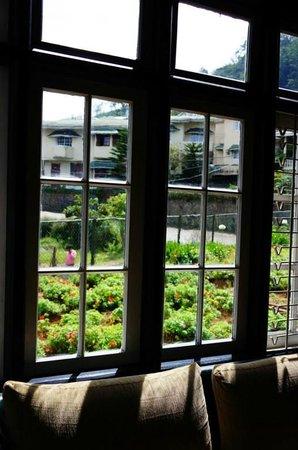 Grosvenor Hotel: vista dalla finestra