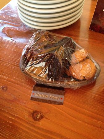 The Suites at Sedona: Gluten free treats