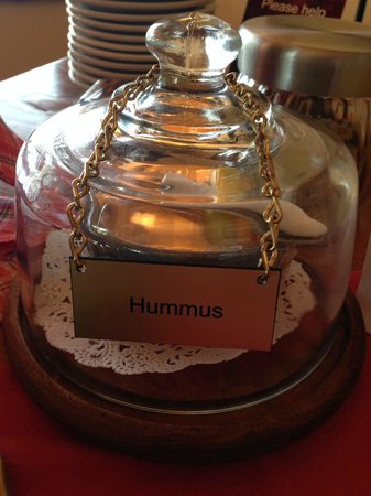 The Suites at Sedona: the best hummus ever!! Made by Sam