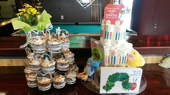 baby shower set up picture of rivertap pub the dalles