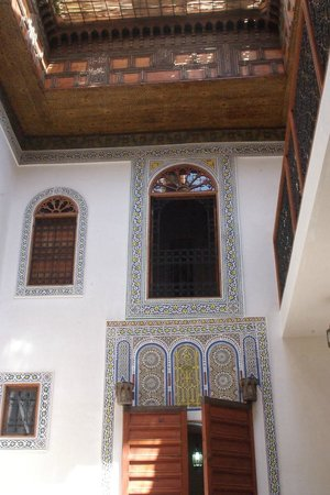 dar gnaoua: Patio
