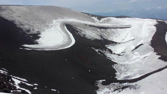 Monte Etna: Inaktiver Krater