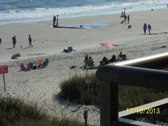 BEST WESTERN Ocean Sands Beach Resort: busy beach