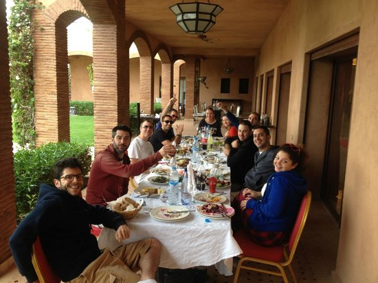 Villa President: Awesome dinning outside