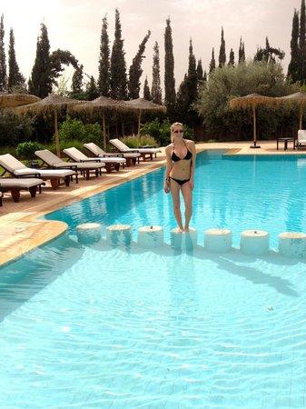Villa President: Enjoying the pool! =)