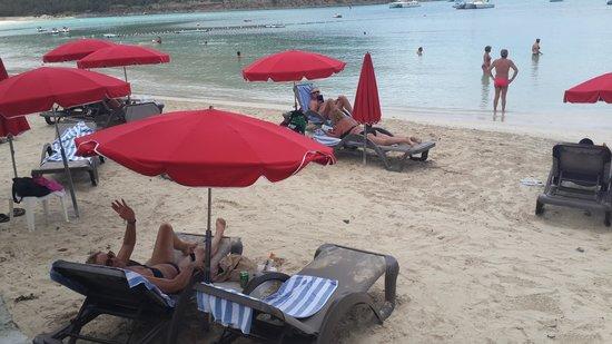 Hotel Riu Palace St Martin: La playa del hotel