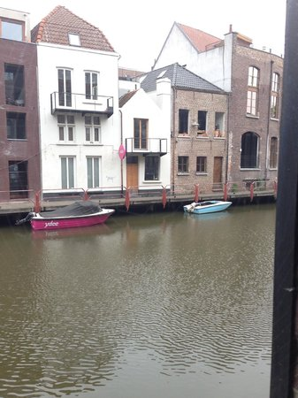 Ghent River Hotel: View