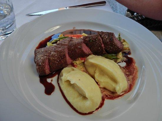 """Roland Restaurant : Hauptspeise: """"Rolands"""" Spezial vom Rind (superlecker!!)"""
