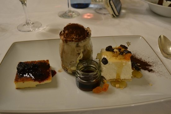 Parador de Vic-Sau : десерт от шеф-повара