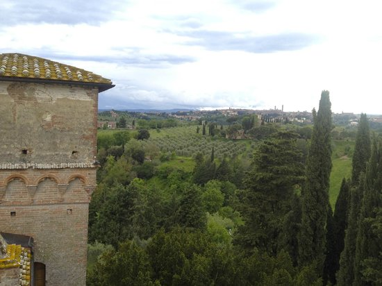 Castello delle quattro torra: view from the tower room