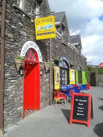 The Dingle Quayside: Eingang