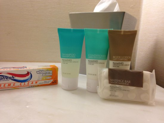 Hyatt Morristown: Toiletries