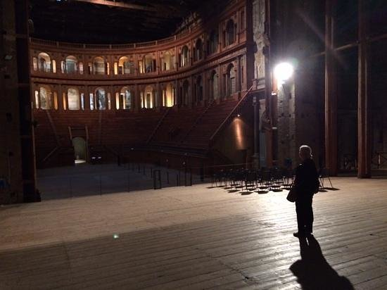 Teatro Farnese: The place to ourselves