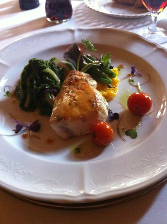 U Maliru 1543: Butterfisch an Safranrisotto