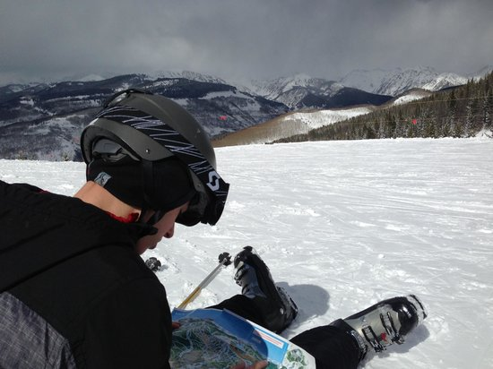 Vail Mountain Resort : trying to map out a route that won't kill us