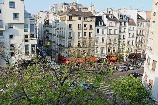 Hotel Georgette : Blick aus dem Fenster