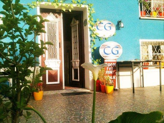 CG Guesthouse : entrance