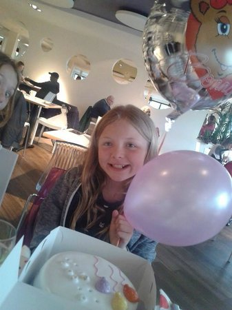 my daughters birthday at butlins